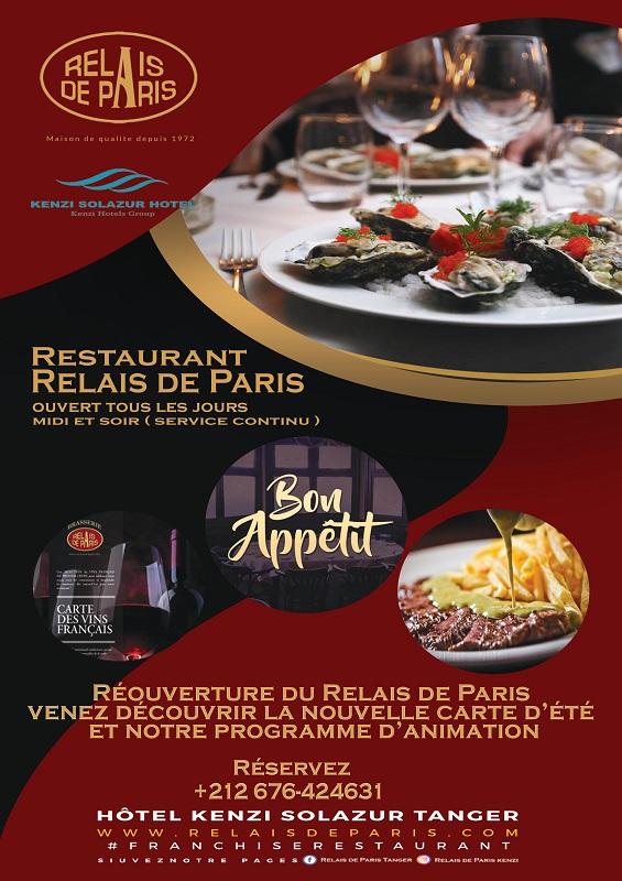 Restaurant Le Relais de Paris - Réouverture le jour de Aïd Al Fitr pour des plaisirs à partager