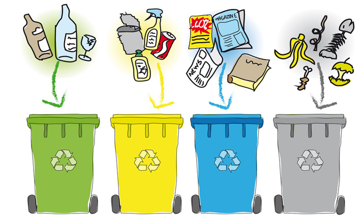 Tri de déchets