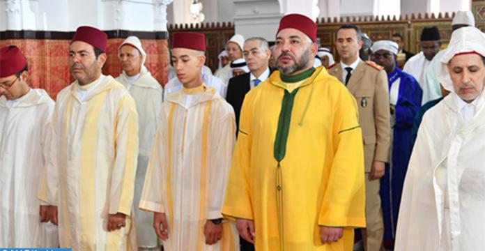 La prière de l'Aïd