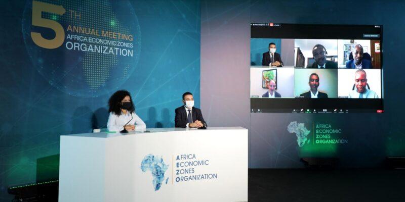 Tenu de la 5ème convention annuelle des des Zones Economiques Africaines