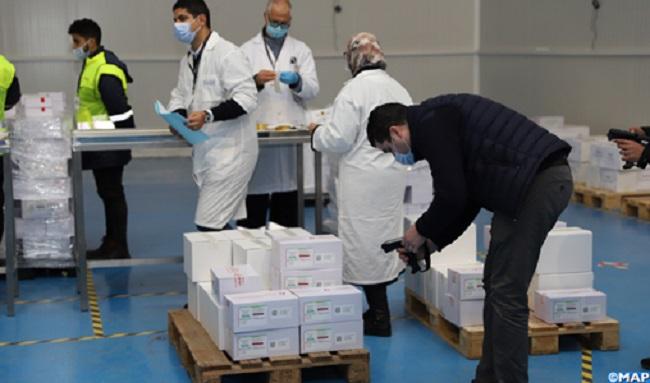 Lancement distribution vaccin ant-Covid