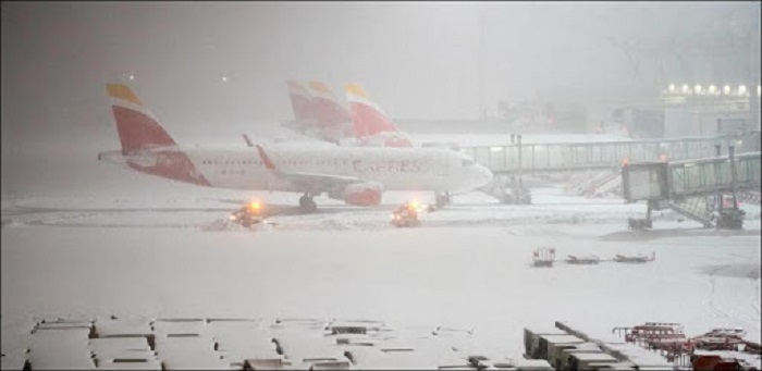 L'aéroport de Madrid