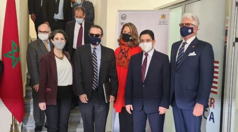 Une délégation américaine